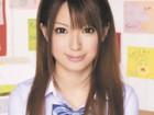 アイドル系激カワ美少女女子校生がバイト前に学校で同級生とハメて顔射される画像