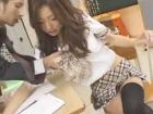 めっちゃエロい体した激カワJKに補修中に誘惑されて教室でセックスする男性教師 MARINA erovideo無料サンプルエロ動画画像